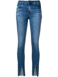 J Brand укороченные облегающие джинсы