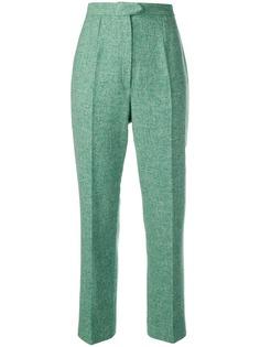 Christian Dior Vintage брюки строгого кроя с завышенной талией
