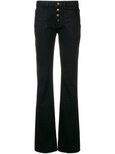 Saint Laurent расклешенные джинсы кроя слим