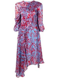 Preen By Thornton Bregazzi платье с абстрактным принтом