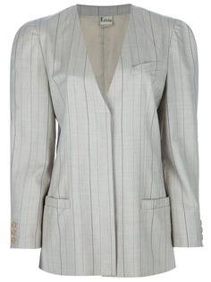Krizia Vintage костюм с юбкой в полоску