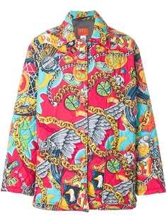 Kenzo Vintage дутое пальто Jungle Kenzo