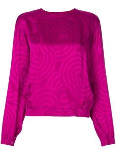 Christian Dior Vintage блузка с узором