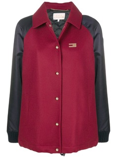 Tommy Hilfiger куртка бомбер в стиле колор-блок