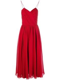 Max Mara расклешенное платье миди