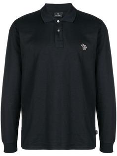 Ps By Paul Smith рубашка-поло с вышитым логотипом