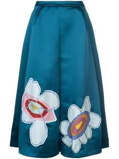 Mira Mikati юбка-миди с пэчем