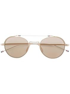 Thom Browne Eyewear солнцезащитные очки-авиаторы