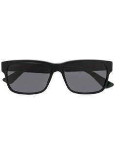 Квадратные очки зеркальные