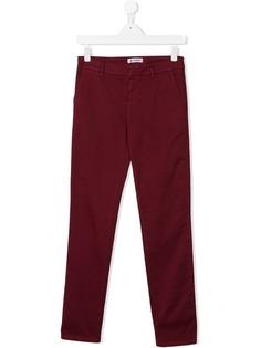 Dondup Kids брюки чинос узкого кроя