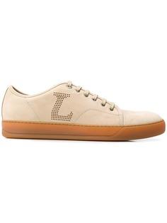 Lanvin кроссовки с перфорированным логотипом