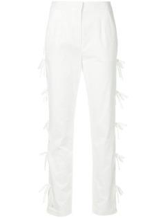 Self-Portrait брюки с бантом