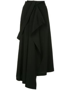 Isabel Benenato асимметричная юбка миди