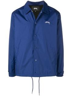 Stussy куртка-рубашка с логотипом