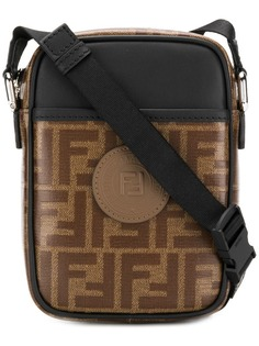 Fendi сумка через плечо с принтом логотипов