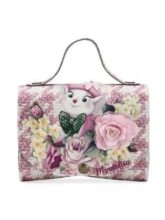 Monnalisa сумка The Rescuers с цветочным декором