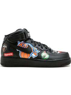 Supreme хайтопы Nike x Supreme Air Force 1 Mid 07