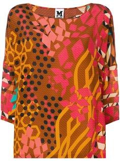 M Missoni блузка с графическим принтом