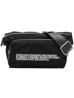 Calvin Klein 205W39nyc поясная сумка на молнии с логотипом