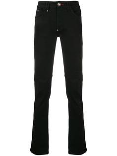 Philipp Plein джинсы скинни с принтом логотипов
