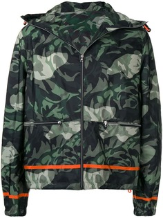 Alexander McQueen камуфляжная куртка-бомбер