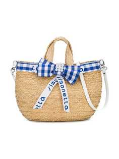 Simonetta соломенная пляжная сумка