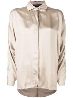 Max Mara Porfido embellished shirt