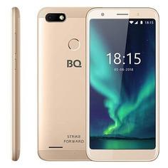 Смартфон BQ Strike Forward 16Gb, 5512L, золотистый