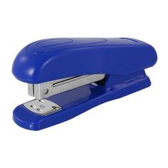 Степлер Silwerhof 401070-02 24/6 (20листов) синий 100скоб 12 шт./кор.