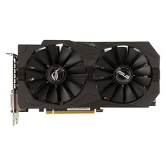 Видеокарта ASUS nVidia GeForce GTX 1050 , STRIX-GTX1050-O2G-GAMING, 2Гб, GDDR5, OC, Ret