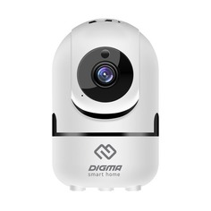 Видеокамера IP Digma DiVision 201 2.8-2.8мм цветная корп.:белый