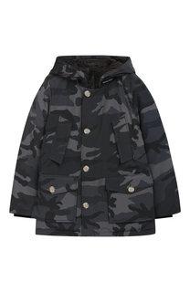 Пуховая куртка с капюшоном Woolrich