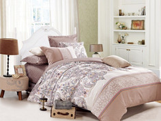 Постельное белье Cleo Satin Lux 20/070-SL Комплект 2-спальный Сатин