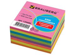 Стикеры Brauberg Neon 76x76mm 400 листов 8 цветов 126686