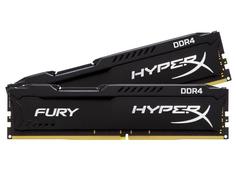 Модуль памяти Kingston HyperX Fury Black DDR4 DIMM 2933MHz PC4-23466 CL17 - 16Gb KIT (2x8GB) HX429C17FB2K2/16