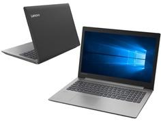 Ноутбук Lenovo IdeaPad 330-15ARR Black 81D200H1RU (AMD Ryzen 3 2200U 2.5 GHz/6144Mb/256Gb SSD/AMD Radeon 535 2048Mb/Wi-Fi/Bluetooth/Cam/15.6/1920x1080/Windows 10 Home 64-bit)