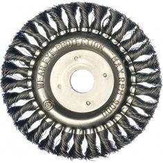 Щетка круглая витая (150х22.2 мм)edge by patriot 813010012