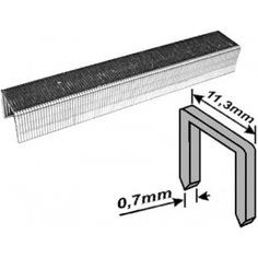 Скобы для степлера закаленные усиленные узкие (тип 53; 14 мм; 1000 шт.) fit 31334