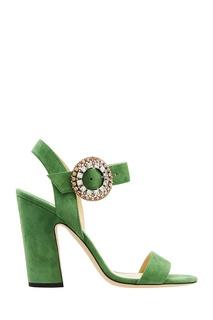 Зеленые босоножки Mischa 100 Jimmy Choo