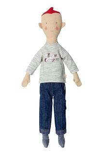 Тряпичная кукла с рыжими волосами Maileg