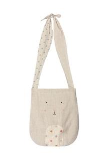 Бежевая текстильная сумка Maileg