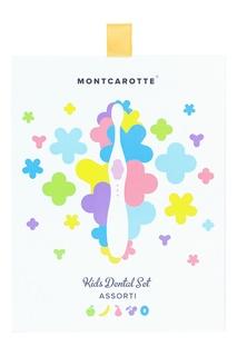 """Подарочный набор """"Желтый"""" детской косметики для зубов для детей Mont Carotte"""