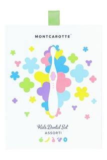 """Подарочный набор """"Зеленый"""" детской косметики для зубов для детей Mont Carotte"""