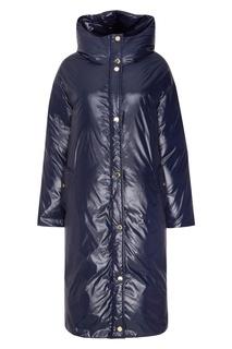 Фактурная синяя куртка Terekhov Girl