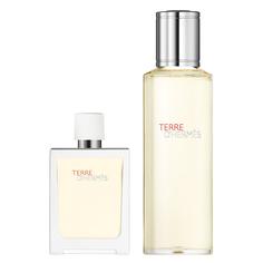 HERMÈS Terre dHermès Eau Très Fraîche Eau de Toilette Travel Spray 30 ml and Refill 125 ml