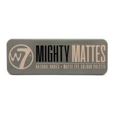 W7 COSMETICS Палетка теней для век Mighty Mattes