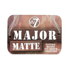 W7 COSMETICS Палетка теней для век Major Matte