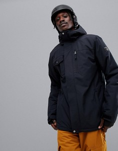 Черная куртка Quiksilver Mission Solid - Черный