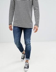 Темные узкие джинсы United Colors Of Benetton - Синий