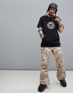 Горнолыжные брюки с камуфляжным принтом DC Shoes Asylum - Светло-бежевый